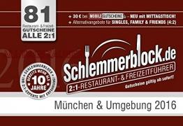 Schlemmerblock München & Umgebung 2016